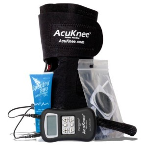 AcuKnee advanced TENS unit components